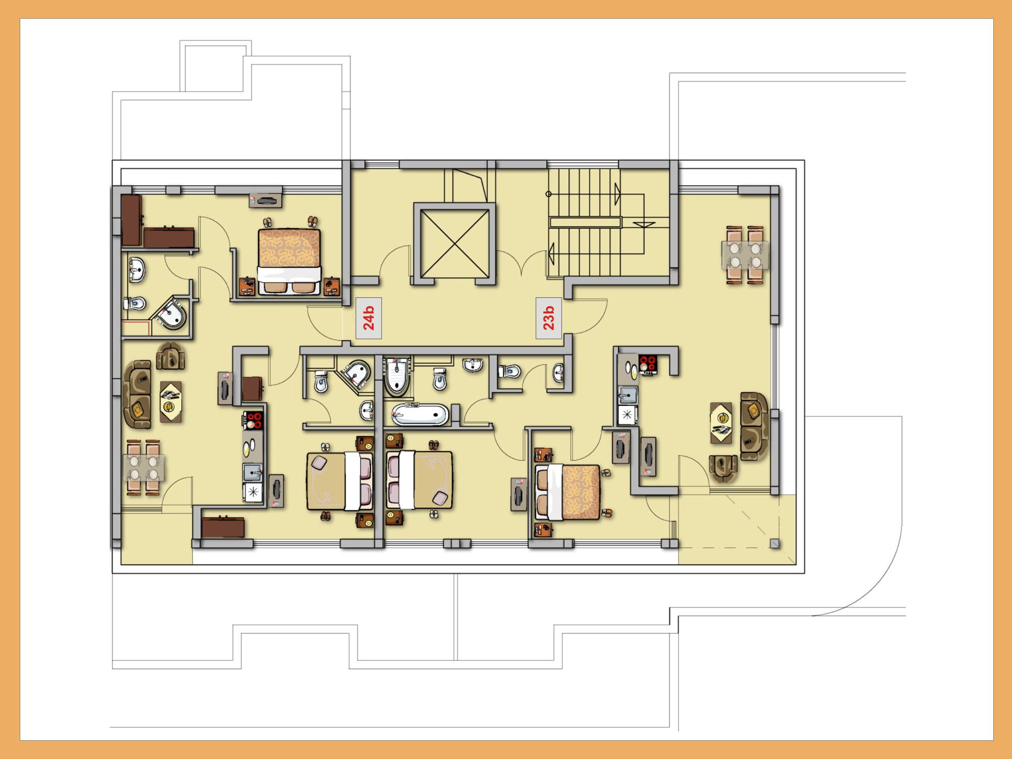 Home Ideas Apartment Complex Building Plans