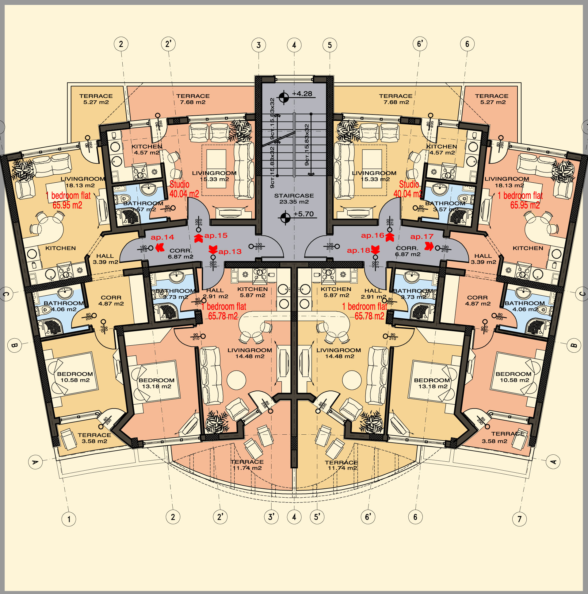 Two bedroom apartment layout plans apartment design ideas - Garage apartment floor plans ...